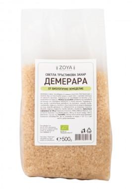 Светла тръстикова захар Демерара - био
