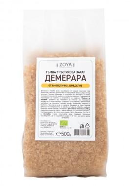 Тъмна тръстикова захар Демерара - био