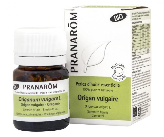Mini-capsules with Essential Oil - Oregano - organic, Pranarom,  60 pcs