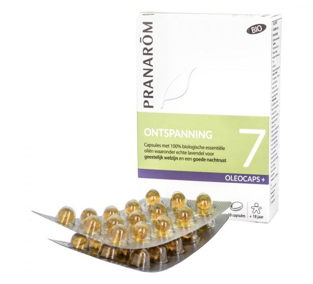 Капсули с растителни масла Добър сън Oleocaps 7 - био, Pranarom,  30 бр