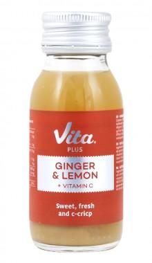 Плодова супер-напитка Джинджифил и Лимон + витамин C