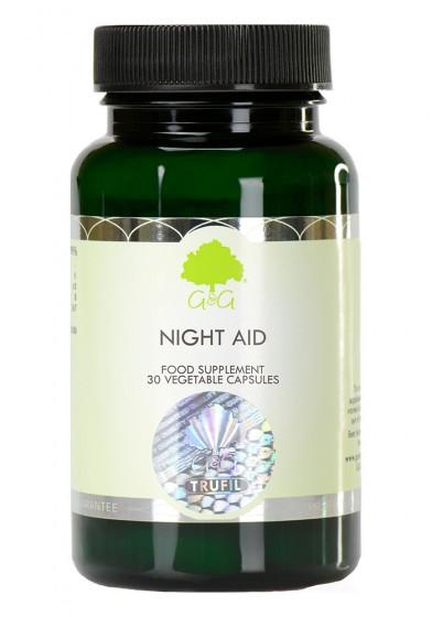 Night Aid with 5-HTP, G & G,  30 pcs