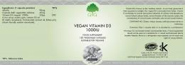 Витамин D3 1000IU, G & G,  120 бр