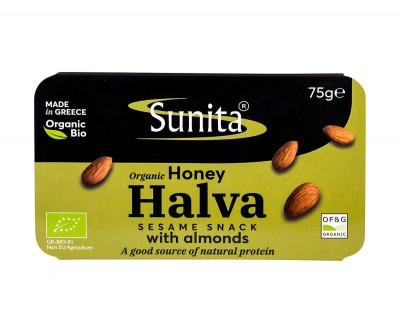 Halva with Almonds & Almonds - organic