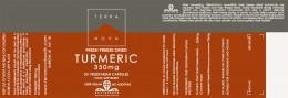 Turmeric 350mg, Terra Nova,  50 pcs