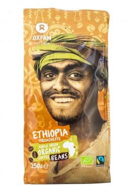 Кафе арабика на зърна - Етиопия - био