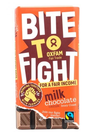 Млечен шоколад - Fair Trade, Oxfam,  200 г