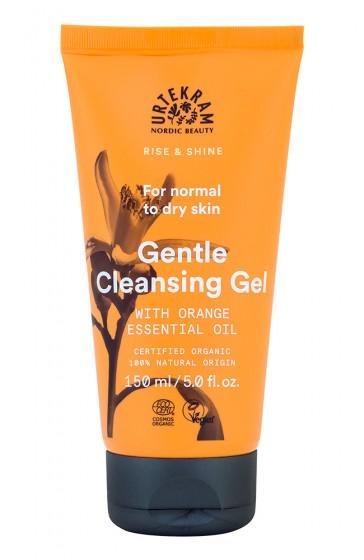 Gentle Facial Cleansing Gel - organic, Urtekram,  150 ml