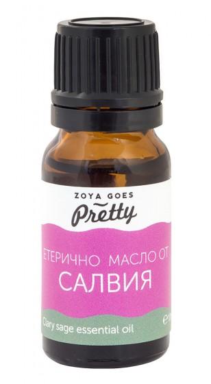Clary sage essential oil, Zoya Goes Pretty ®,  10 ml