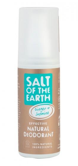 Кристален део-спрей Джинджифил и жасмин, Salt of the Earth,  100 мл