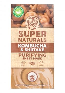 Purifying Face Sheet Mask Kombucha & Shiitake - organic