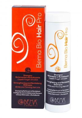 Подсилващ шампоан за тънка и чуплива коса - био