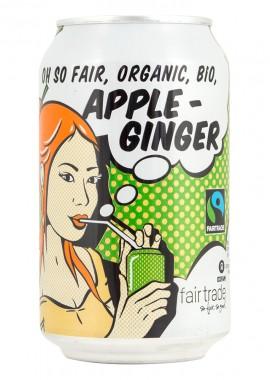 Sparkling Drink Apple-Ginger - Fair Trade - organic