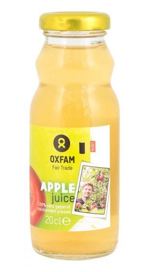 Apple juice without sugar, Oxfam,  200 ml