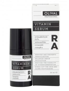 Нощен витаминен серум за лице RA