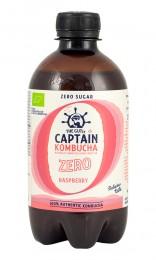 Kombucha with Raspberry Zero - organic, Captain Kombucha,  400 ml