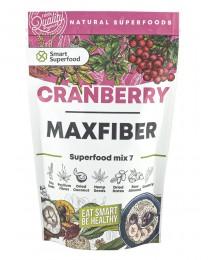 Микс от суперхрани и боровинка - Cranberry Maxfiber, Smart Superfood,  200 г