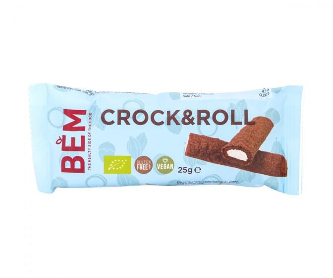 Хрупкави Каноли Crock & Roll с кокосов крем - био, BEM,  25 г