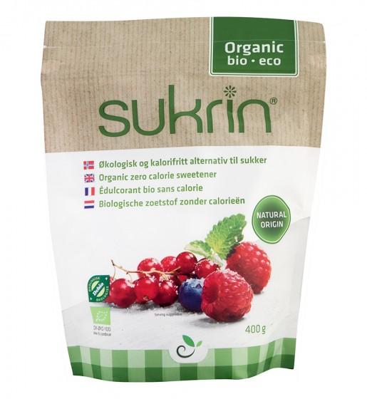 Zero Calorie Sweetener with Erythritol - Organic, Sukrin,  400 g