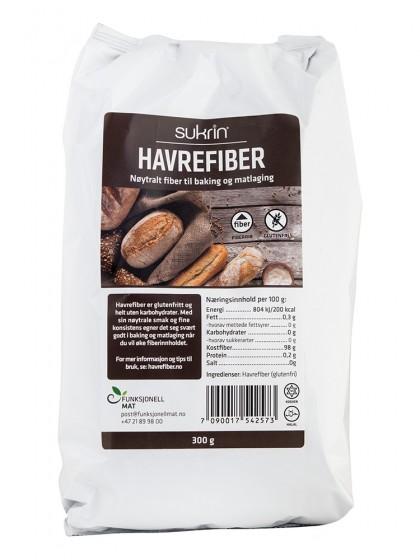 Oat Fibre - gluten free, Sukrin,  300 g