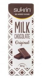 Milk Chocolate Original - sugar free, Sukrin,  40 g