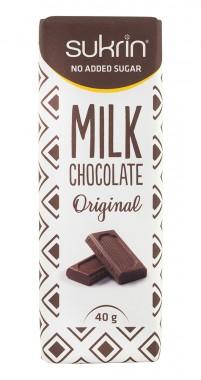 Млечен шоколад без захар Original