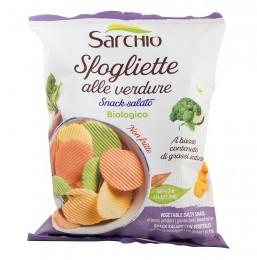 Зеленчуков чипс - био, Sarchio,  55 г