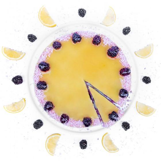 Цитрусова торта с къпини, Сладкарски цех Зоя,  8 бр,  12 бр