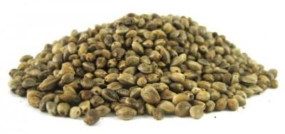 Насипни небелени конопени семена - Био