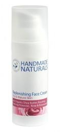 Подхранващ крем за лице за суха/зряла кожа - 15/50 мл, Handmade Naturals,  15 мл,  50 мл