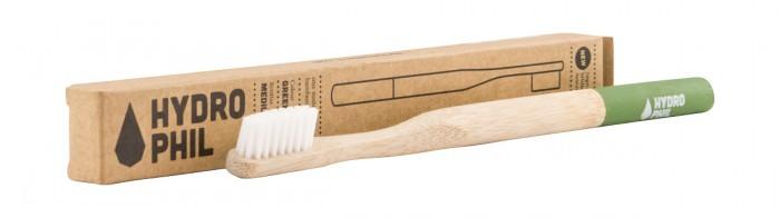 Bamboo Environmental Toothbrush - Medium, Hydrophil,  1 pcs,  1 pcs,  1 pcs,  1 pcs