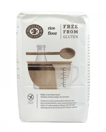 Оризово брашно без глутен 1 кг, Doves Farm,  1 кг