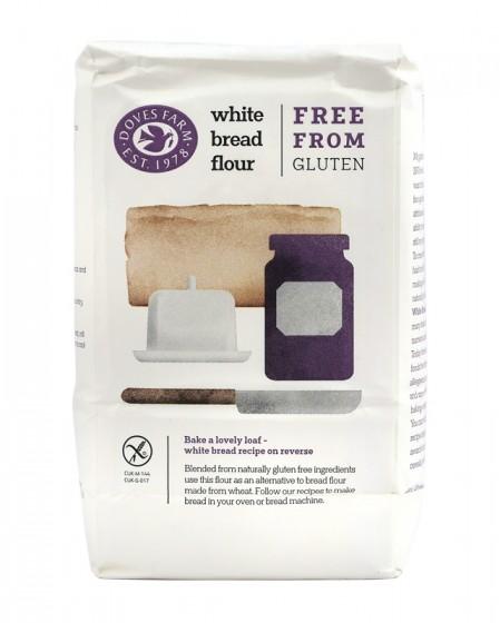 Бяло безглутеново брашно - 1 кг