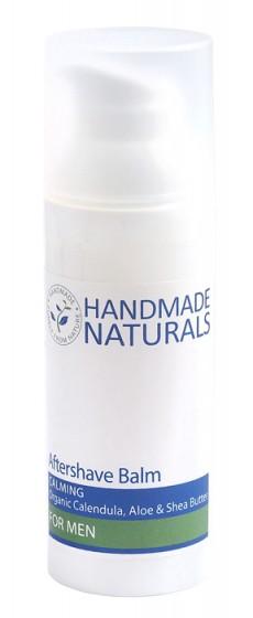 Крем за след бръснене - 15/50 мл, Handmade Naturals,  15 мл,  50 мл
