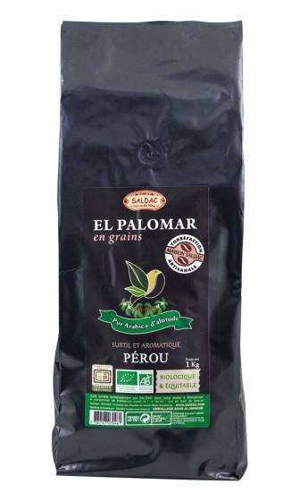 Био кафе Palomar на зърна - Aрабика 1 кг, Saldac,  1 кг