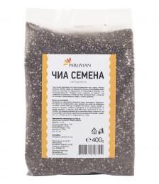 Семена от Чиа - Peruvian - 400 г, Peruvian,  400 г