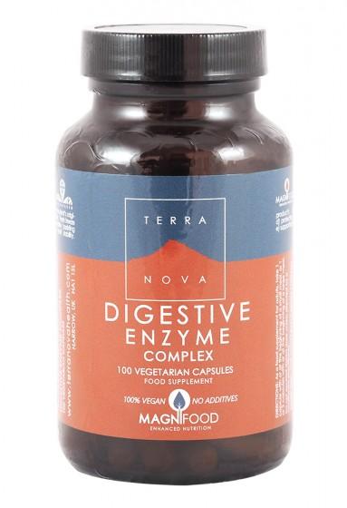 Digestive enzyme complex 50/100 capsules , Terra Nova,  50 pcs,  100 pcs