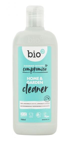 Почистващ препарат/дезинфектант Home & Garden 750 мл, Bio-D,  750 мл