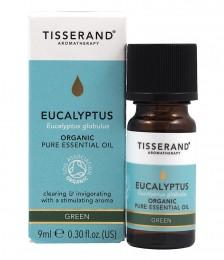 Етерично масло от евкалипт - био - 9 / 20 / 30 мл, Tisserand® Aromatherapy,  9 мл,  20 мл,  30 мл