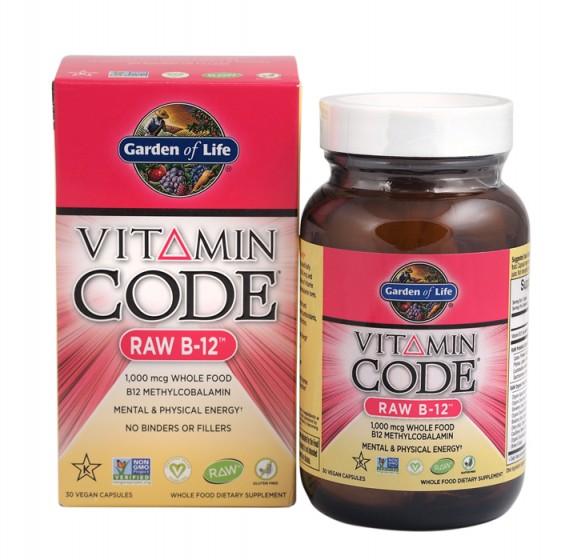 СУРОВ В-12 (RAW B-12™) от Vitamin Code®