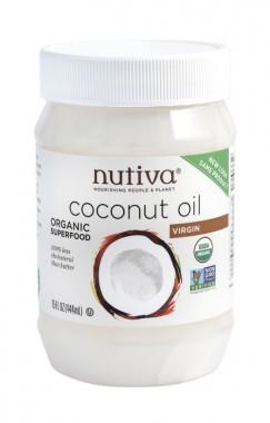 Органично кокосово масло Nutiva - 444 мл