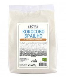 Organic Coconut Flour - 400g, ZoyaBG ®,  400 g