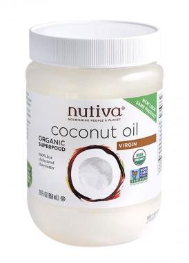 Органично кокосово масло Nutiva - 858 мл