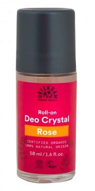 Био рол-он дезодорант с роза - 50 мл