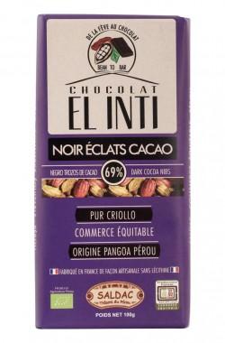 Черен шоколад ръчно производство 100 г