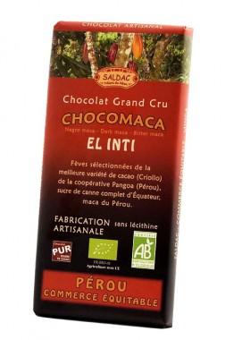 Черен шоколад с мака - 100 г