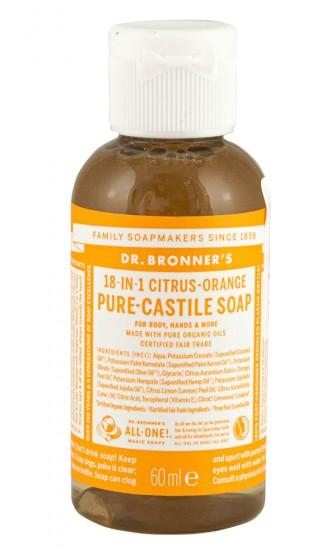 Кастилски сапун с коноп и цитруси 60/236/473 мл, Dr. Bronner's,  60 мл,  236 мл,  473 мл