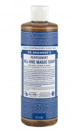 Кастилски сапун с коноп и мента 60/236/475 мл, Dr. Bronner's,  60 мл,  236 мл,  475 мл