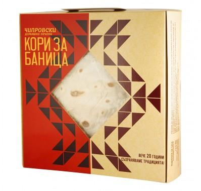 Домашно печени чипровски кори за баница - 320 г