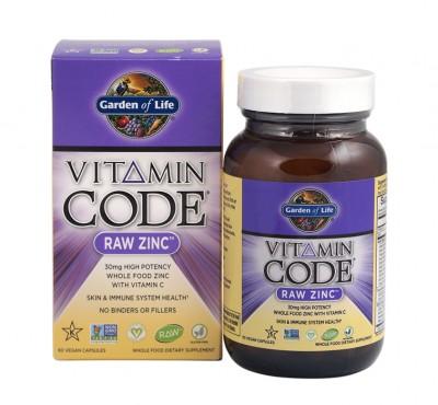 Суров цинк (Raw Zinc) от Vitamin Code®